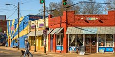 NoDa, Charlotte's historic arts neighborhood, reflects the ever-changing New South right now — no telling what it'll be tomorrow.