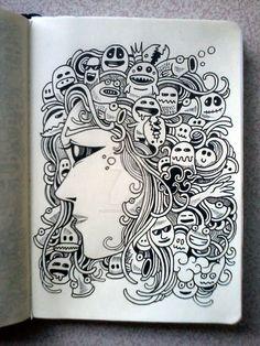 DOODLE ART: Mother Of Doodles by kerbyrosanes on DeviantArt