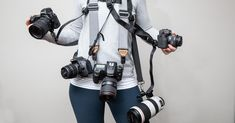There's a very short list of things that every single photographer should definitely have for their camera, but a camera strap is on that list! Here's a look at the best camera straps on the market in Best Camera Strap, Camera Straps, Photography Accessories, Photo Accessories, Canon Camera For Beginners, Blogging Camera, Best Camera For Photography, Photography Ideas, Best Cameras For Travel