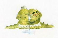 ¡Miradlos qué viejos son! ¡Qué viejos son los lagartos! ¡Ay cómo lloran y lloran. ¡ay! ¡ay!, cómo están llorando!