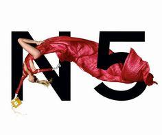 Estella Warren - Chanel N°5 advertisement, 1999. Jean-Paul Goude.
