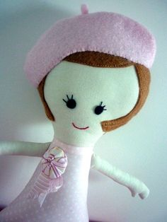 French Mademoiselle Doll