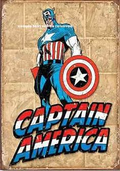 A4 poster print #retro #vintage #marvel super hero comic avengers captain america,  View more on the LINK: 	http://www.zeppy.io/product/gb/2/251643497227/