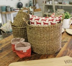 Gallery - The Ruby Orchard Laundry Basket, Wicker Baskets, Home Decor, Decoration Home, Room Decor, Laundry Baskets, Woven Baskets, Interior Decorating