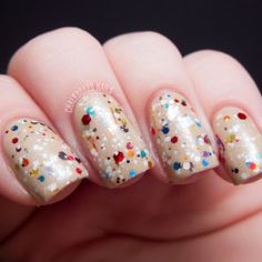 Happy Special Day over OPI Don't Pretzel My Buttons swatched by Chalkboard Nails