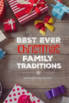Enjoy this HUGE list of creative ways to connect and build Christmas traditions with your family! These are giggle and smile-worthy! @alicanwrite