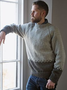 Design from SCANDINAVIAN KNITS by Martin Storey - 18 contemporary designs using Rowan Yarns. Featuring cables with a few Fairisle designs. The projects offer a range of garments and accessories for men and women, as well as some nice things for the home including a big cable bed runner that doubles as a wrap | English Yarns
