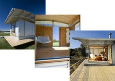 Ecoshelta Design collage Beautiful Places To Live, Beautiful Space, Beach House Deck, Sips Panels, Site Office, 2 Bedroom House, Building Systems, Roofing Systems, House On A Hill