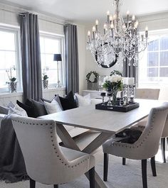 Attractive Wouldnu0027t Mind Having A Dining Room This Glamorous! @home_by_virginia