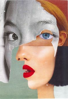 Ewa Look - Alberta. A handmade collage, October Face Collage, Collage Portrait, Collage Artwork, Creative Portraits, Creative Photography, Art Photography, Collage Kunst, Collages, Art Alevel