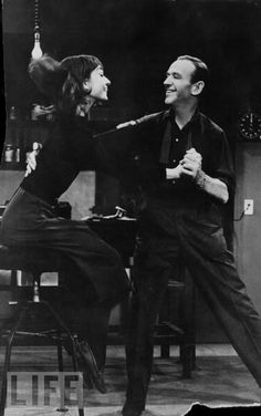 Audrey Hepburn and Fred Astaire in Funny Face