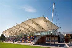 Tensile Fabric Stadium Roof Covering
