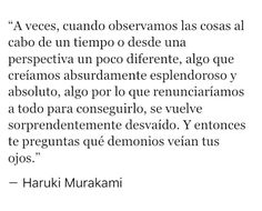 Text Quotes, Poetry Quotes, Book Quotes, More Than Words, Some Words, Cute Spanish Quotes, Midnight Thoughts, Inspirational Phrases, Haruki Murakami