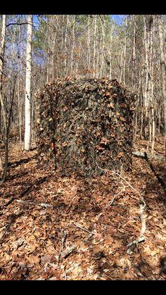 This Redneck Blinds Ghillie is on point! #backwoodslife #redneck #blind #hunting #deerhunting #hunt