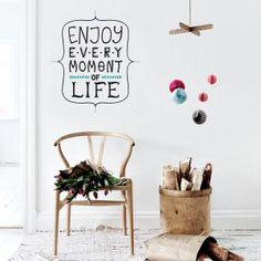 Vinilo Enjoy every moment of life