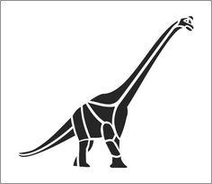Brachiosaurus Stencil Dinosaur Brontosaurus - ClipArt Best - ClipArt Best