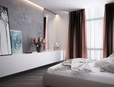Luxurious Apartment Redefines The Term U0027Urban Jungleu0027 | Loft | Pinterest |  Apartments, Gray Bedroom And Bedrooms