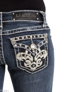 L.A. Idol.... jean heaven! | For the love of Clothes! | Pinterest ...