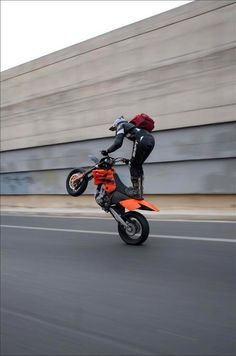 Wheelie to work everyday!