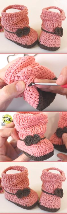 Baby Booties Crochet Pattern For Beginners
