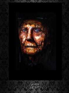 Ritók Lajos Oilpainting, Olajfestmény, portré