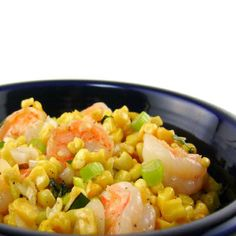 Shrimp and Corn with Fresh Basil is a great summer meal. The recipe is on my blog. If you enjoy it please pin and share it with your friends.