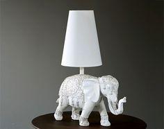 Lampe à poser déco éléphant