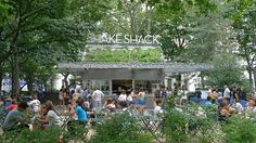 Shake Shack // New York City // park dining options