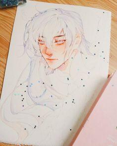 Manga Watercolor, Watercolor Paintings, Cool Art Drawings, Cool Artwork, Cute Art Styles, Estilo Anime, Art Portfolio, Character Drawing, Pretty Art