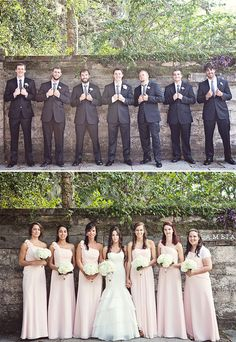 #Bridesmaids + #Groomsmen Photo I Christina Karst Photography I #weddingphotos #weddingphotography