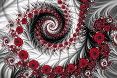 Red Bubbles by Jaclyn Hughes                    Created with Ultra Fractal. Enjoy!