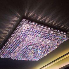 Swarovski Crystal Ceiling Light