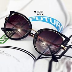 Buy 'UnaHome Glasses – Cat Eyes Sunglasses' with Free International Shipping at YesStyle.com. Browse and shop for thousands of Asian fashion items from China and more!