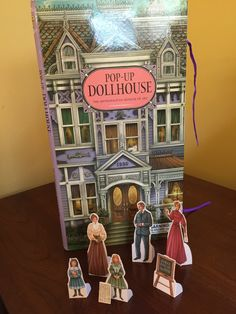 A personal favorite from my Etsy shop https://www.etsy.com/listing/233187303/childrens-book-dollhouse-book-pop-up