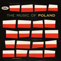 Music of Poland Vinyl Record Album Cover Lp Cover, Vinyl Cover, Cover Art, Music Covers, Album Covers, Lps, Pop Art, Vinyl Sleeves, Album Cover Design
