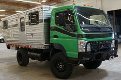 Mitsubishi Fuso Four Wheel truck camper, Off Road Camping, Best Camping Gear, Camping Survival, Overland Truck, Expedition Truck, Build A Camper, Truck Camper, Nissan, Mitsubishi Cars