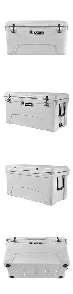 roto molded lunch box. camping ice boxes and coolers 181382: vibe heavy duty 75 quart roto molded cooler lunch box