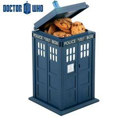 Boîte à Gâteaux Sonore Tardis Docteur Who, Cadeau Geek Design sur Logeekdesign.com