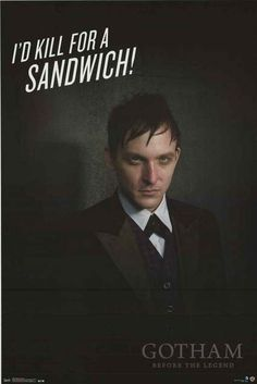 The Penguin Robin Lord Taylor Gotham TV Show Poster 22x34