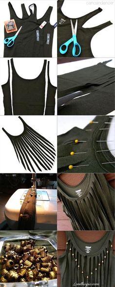 Make your own fringes