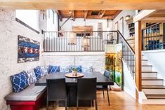 Rustic Meets Modern in This Tri-Level Lincoln Park Timber Loft