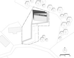 Shear House,Site Plan
