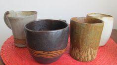 Ceramicas de gres hechas por mi Taller Lise Moller A la Deriva