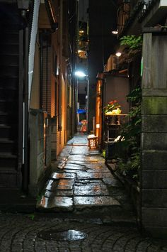夜散歩のススメ「神楽坂 兵庫横丁」東京都新宿区