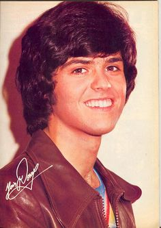donny osmond | Pinup: Donny Osmond (check out the unibrow!)