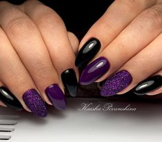 19 trendy ideas for birthday nails design pictures Purple And Silver Nails, Purple Acrylic Nails, Gorgeous Nails, Love Nails, Pretty Nails, Birthday Nail Designs, Birthday Nails, Birthday Design, Shellac Nail Polish