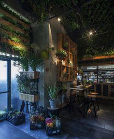 Зелёный ресторан Segev Kitchen Garden — HQROOM