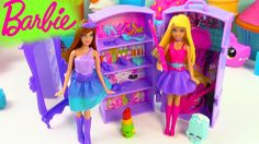 Barbie Doll The Princess and The Popstar Mini Playset Guitar Band Wardro...
