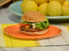 Get Anne Burrell's Killer Turkey Burgers Recipe from Food Network