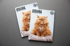 URBANIA / #37 Spécial Roux by Simon Laliberté, via Behance